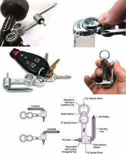 llave para skateboards portatil 6 en 1