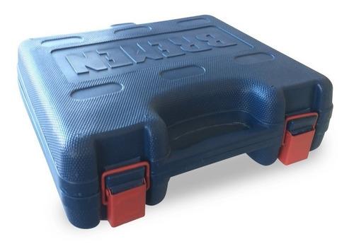 llave pistola impacto neumatica bremen 1/2 760nm kit 15pz industrial doble martillo cod. 7132 dgm
