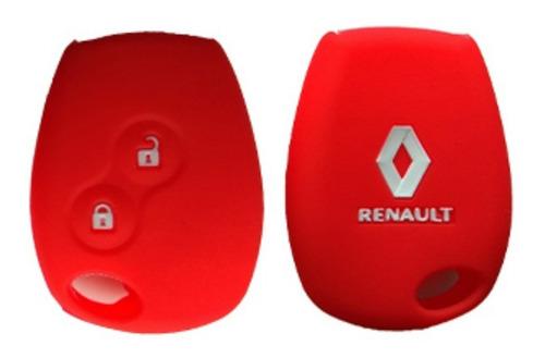 llave renault duster sandero + forro protector