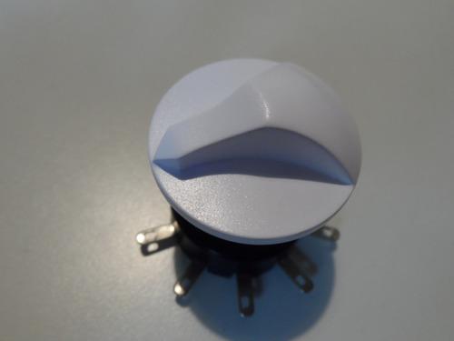 llave rotativa 5 velocidades alcides 75/00 + perilla blanca