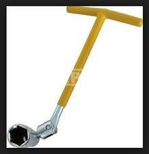 llave saca bujias articulada c/ bocallave de 21 mm