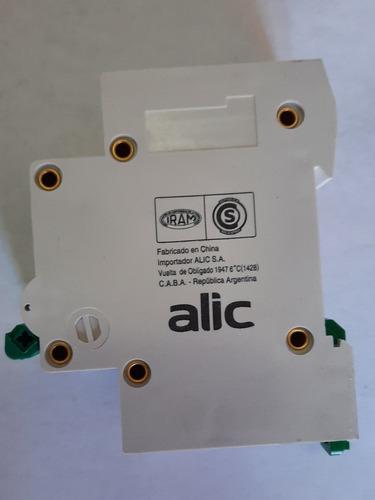 llave térmica 10 amper bipolar 415v iec60898