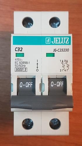 llave termica jeluz bipolar - 10a / 16a / 20a / 25a / 32a