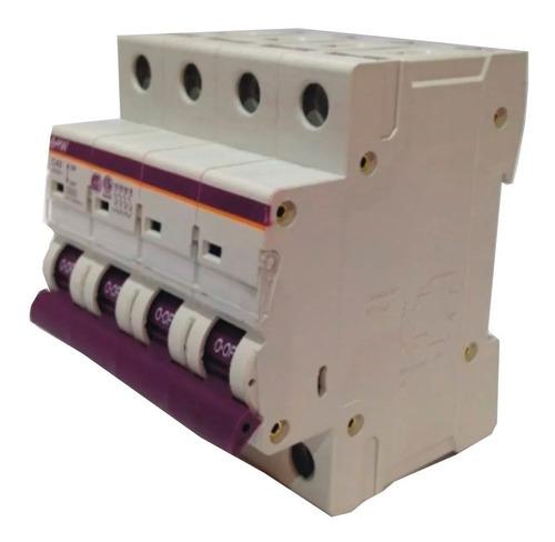 llave termica termomagnetica tetrapolar 4x15 amp iram - baw