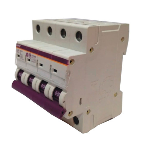 llave termica termomagnetica tetrapolar 4x40 amp iram - baw