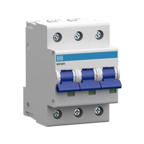llave termica termomagnetica tripolar weg 10 a