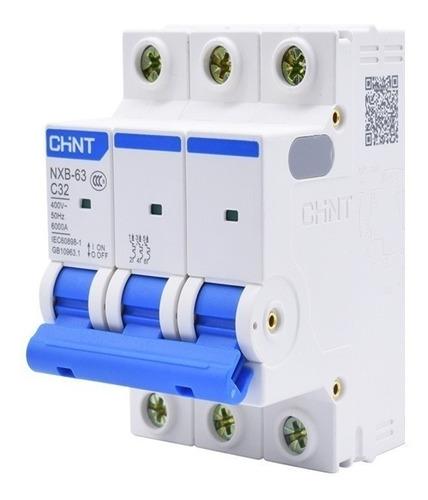 llave termica tripolar 6-40-63a chint 6ka garantia 2años