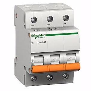 llave térmica tripolar schneider domae 40a 3 polos termico