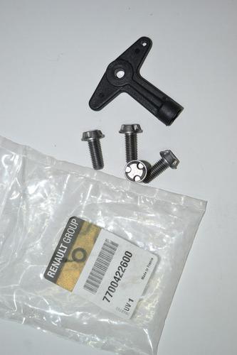 llave + tornillos para rines de lujo renault