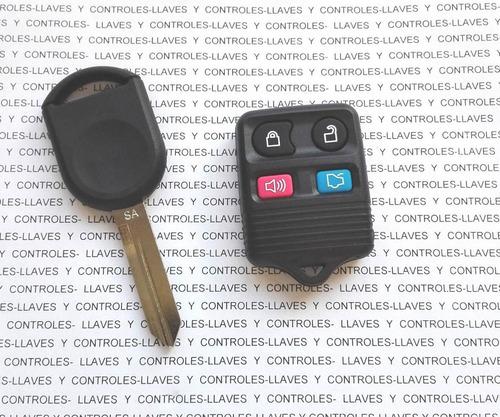 Llave Y Control Alarma Ford Mustang 2005 2006 2007 2008