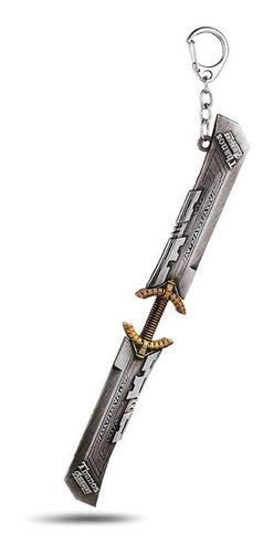 llavero acero inoxidable thanos espada doble avengers