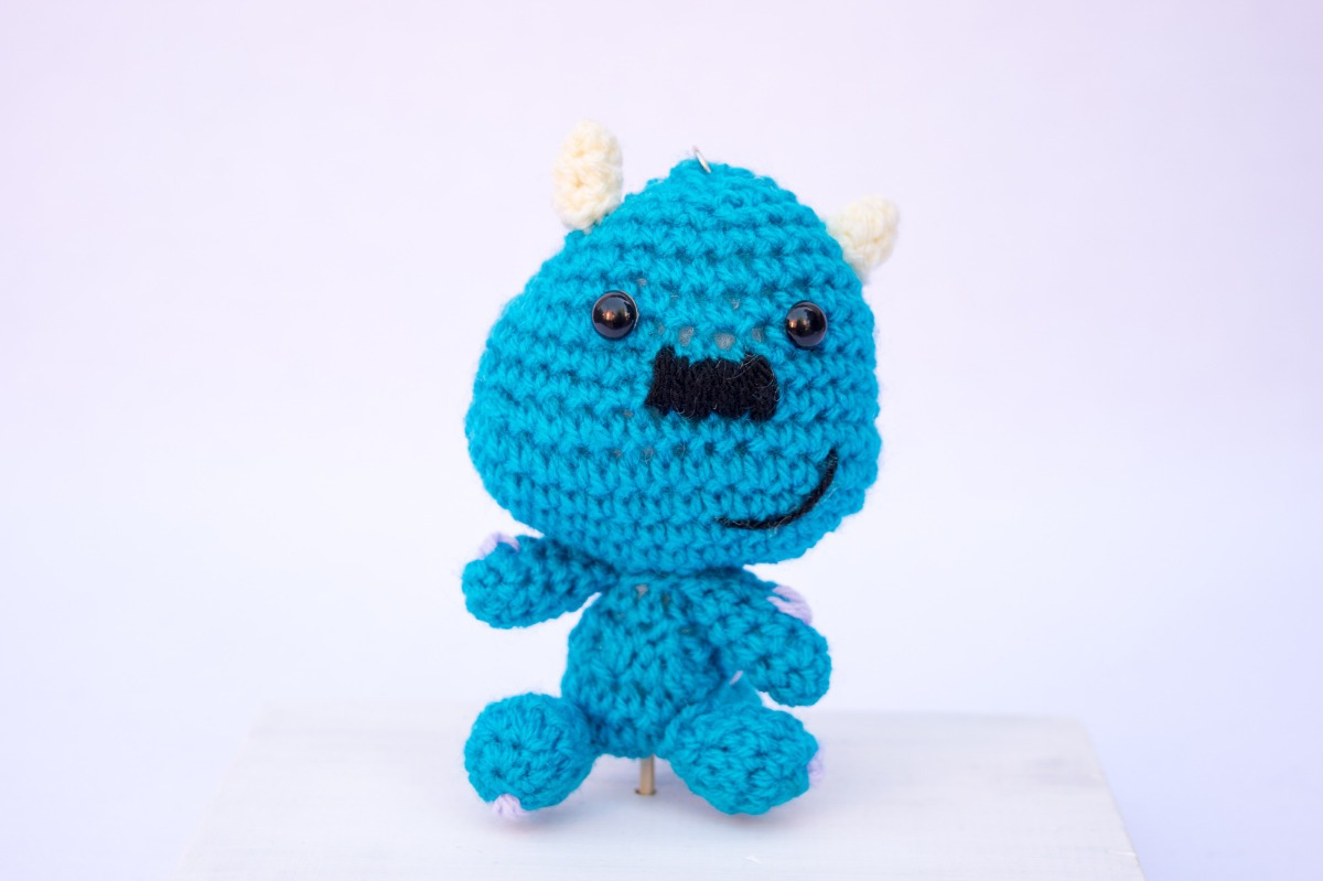 amigurumi#monster inc#sully#handmade#crochet .... monsters inc ... | 799x1200