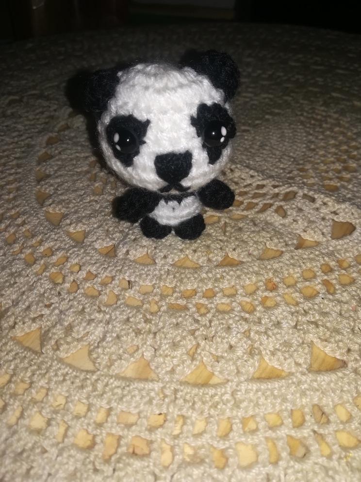 Mini Panda em amigurumi - YouTube   992x744