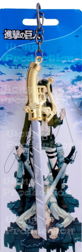 llavero anime - shingeki no kyojin - weapons gde modelo 2