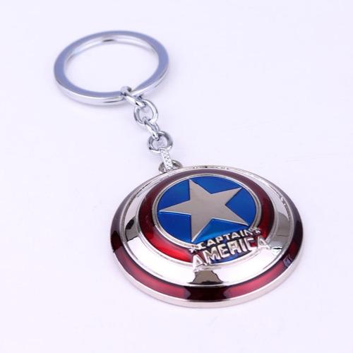 llavero capitan america escudo avengers metal envio gratis