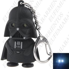 Llavero Con Luz Led + Sonido Darth Vader Star Wars ****