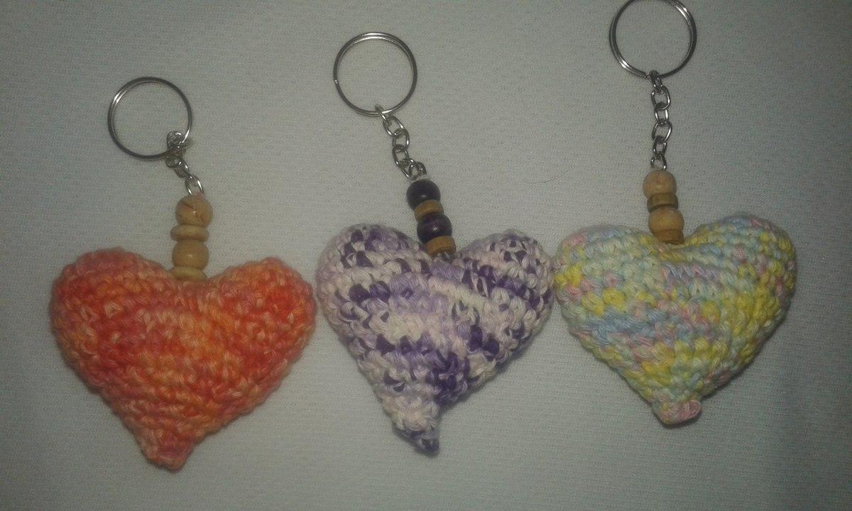 Amigurumi Llavero Corazon : Llavero corazon amigurumi souvenirs en mercado libre