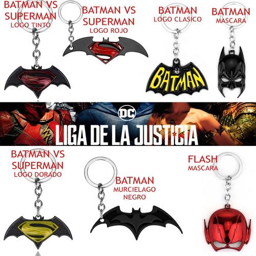 llavero dc liga de la justicia marvel vengadores variedad
