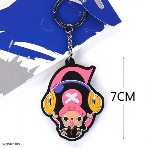 llavero de anime one piece chopper unico!