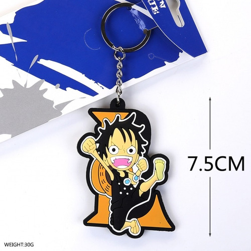 llavero de anime one piece monkey d luffy unico!