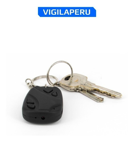 llavero de auto con camara oculta espia graba video + audio