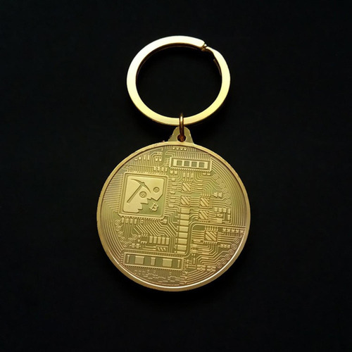 llavero de cadena coleccionable de regalo de colección de m