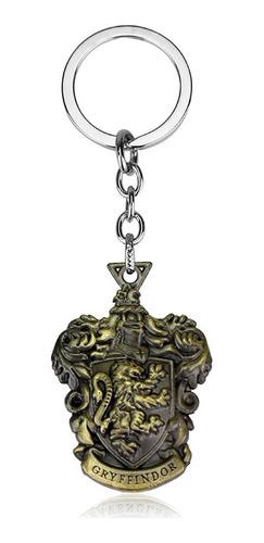llavero de harry potter de colección gryffindor escudo
