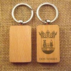 llavero de madera para grabar o estampar regalar regalo pop