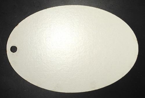 llavero de madera para sublimar mod. lm-ovalado