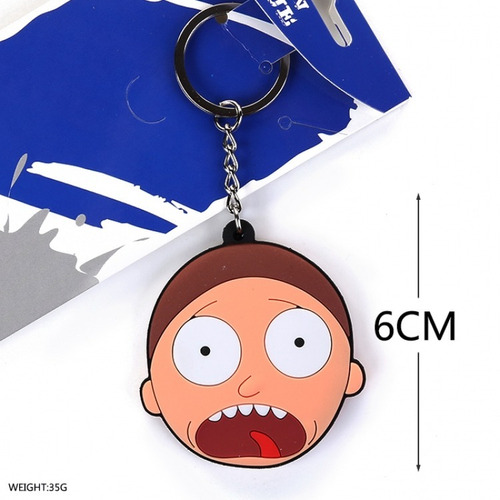 llavero de rick and morty - morty cara unico!