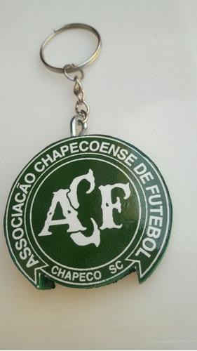 llavero del de futbol club asociación chapecoense de brasil