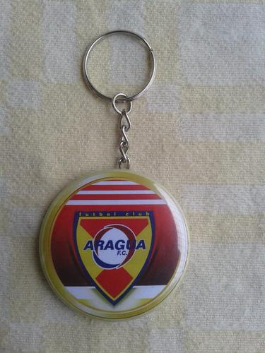 llavero destapador aragua fútbol club