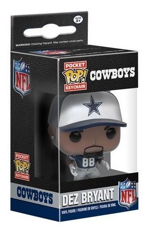 Llavero Dez Bryant Funko Pop Dallas Nfl Cowboys Envio Gratis