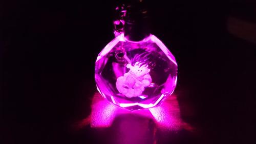 llavero dragon ball figura de goku con luz led