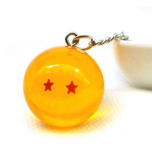 llavero dragon ball z esfera del dragon 2 estrella shenlong