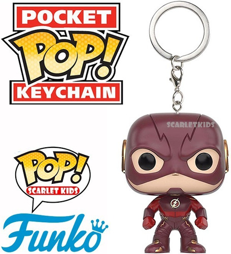 llavero funko flash dc the flash pocket scarlet kids