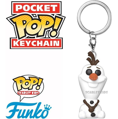 llavero funko frozen varios modelos pocket pop keychain