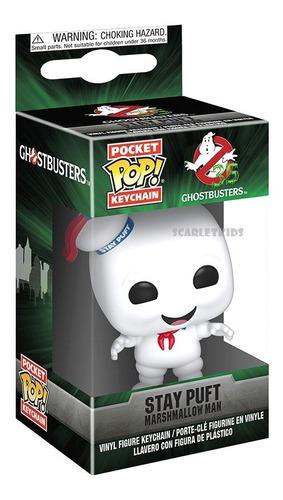llavero funko ghostbusters stay puft funko pocket scarlet kids