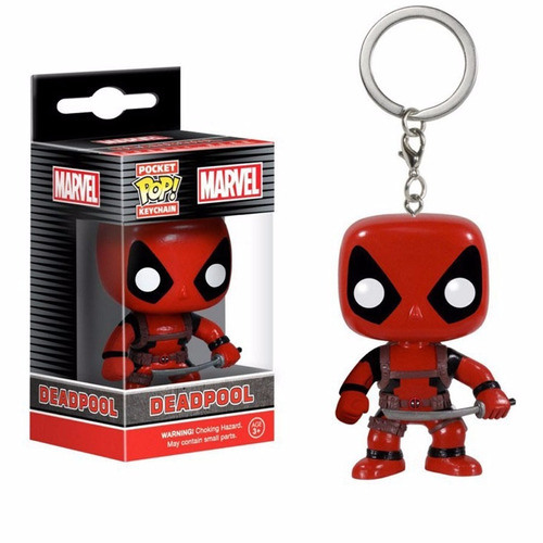 llavero funko pop - deadpool