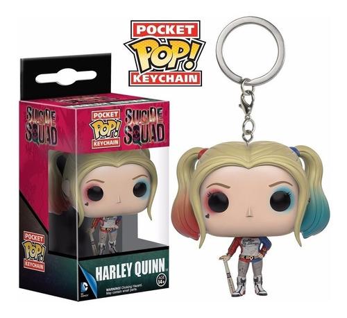 llavero funko pop harley quinns pocket pop keychain