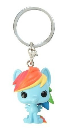 llavero funko pop! my little pony - rainbow dash - 6 cuotas