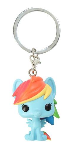 llavero funko pop! my little pony - rainbow dash