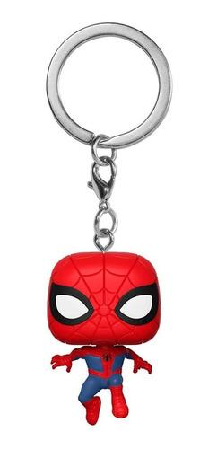 llavero funko pop peter parker - spiderman - marvel - nuevo