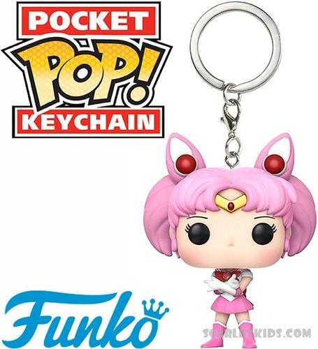 llavero funko sailor moon chibi pop keychain scarlet kids