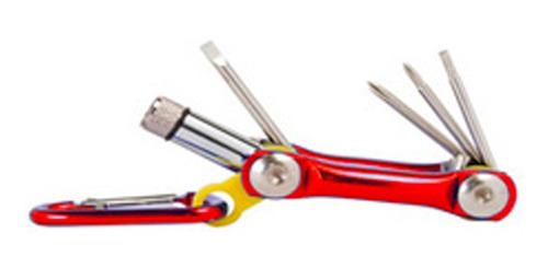 llavero herramienta 6 en 1 mt-600-pdq - tecsys