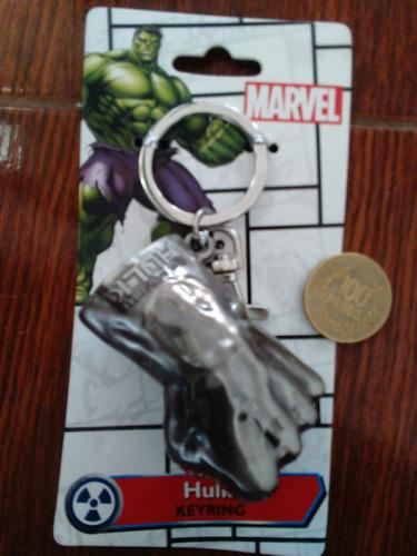 llavero hulk marvel comics pesado