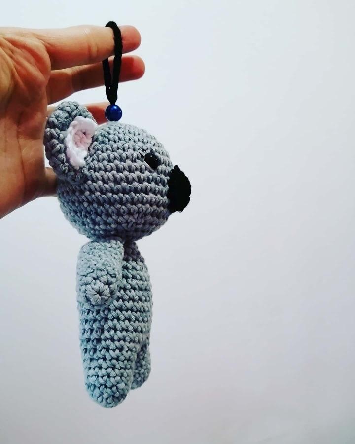 Free koala amigurumi pattern – Knitting Bordado | Patrones de ... | 900x720