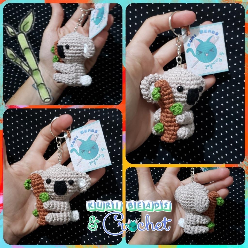 Llavero Koala Amigurumi Tejido A Crochet - $ 150.00 en Mercado Libre | 1024x1024