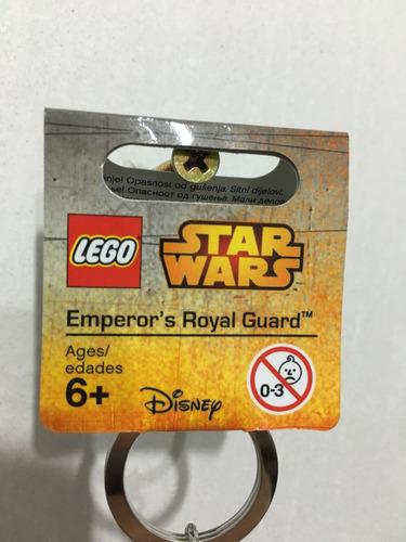llavero lego emperor's royal guard, star wars, disney