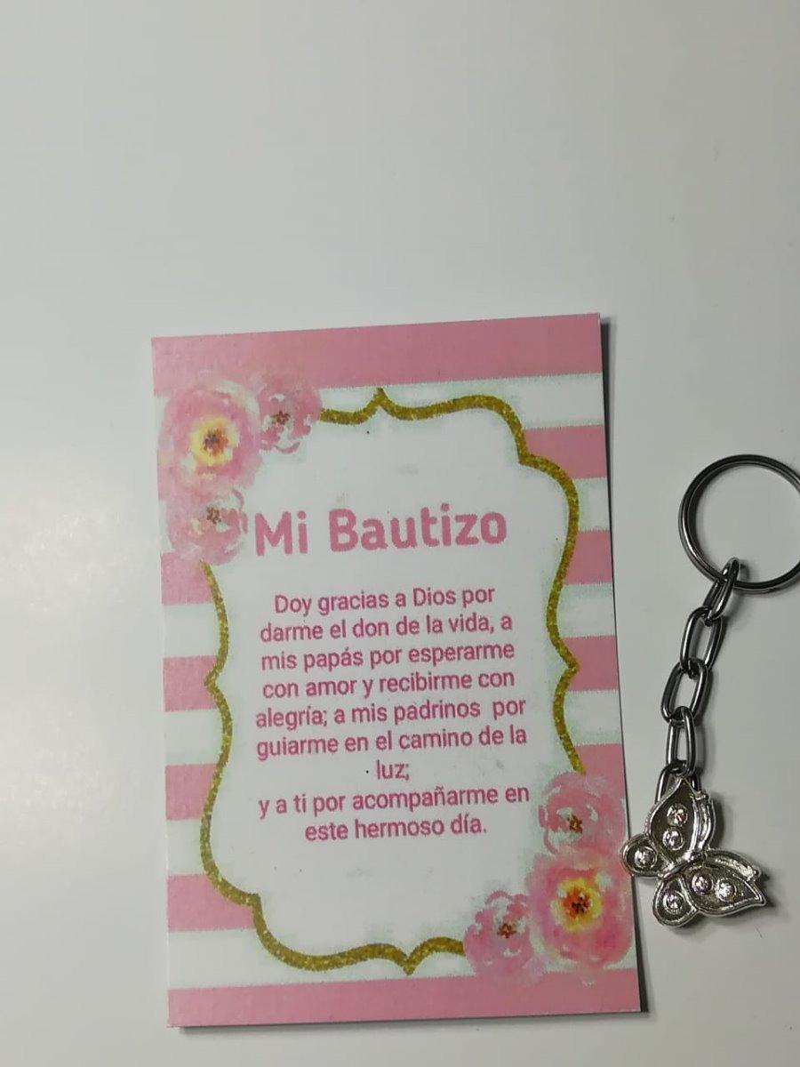 fe0b3c1ff llavero mariposa bautizo presentacion baby shower c  oracion. Cargando zoom.